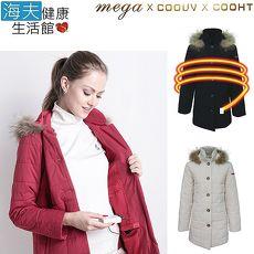 【海夫健康生活館】MEGA COOHT 3M 日本 女用 電熱 加熱 外套 HT-F401