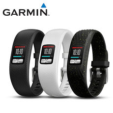 GARMIN Vivofit 4 智慧手環黑色(大)