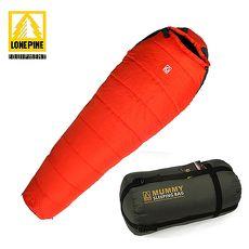 【澳洲LONEPINE】可拼接防水極地保暖睡袋 (紅)