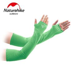 【Naturehike】戶外防曬袖套/運動袖套(亮綠)