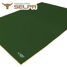 【韓國SELPA】多用途防水地墊/野餐墊/地布/天幕 綠色
