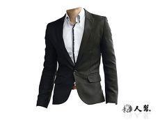 【男人幫】C5302*韓版修身顯瘦【眾人矚目獨家拔挺劍領單扣西裝外套】獨特韓版紳士雅痞款