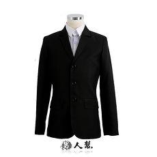 【男人幫】C5304*韓版修身顯瘦【都市上班族正式款素面三釦西裝外套】獨特韓版紳士雅痞款