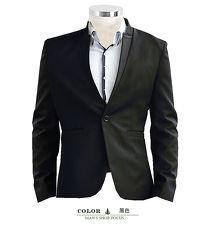 【男人幫】C5321*韓版修身顯瘦【酷炫造型魅力設計立領單扣西裝外套】獨特韓版紳士雅痞款