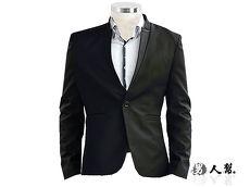 【男人幫】顛覆美學設計立領單扣西裝外套(C5321)