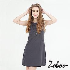 【Zoboo】贴身无袖)派对洋装,小礼服,晚宴服,心机洋装,OL上班族必备(Q5033)