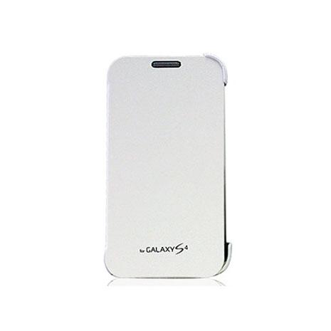 Amigo SAMSUNG S4 簡單側掀 開蓋式皮套 白色