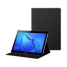 HUAWEI華為 MediaPad T3 10吋 原廠翻蓋書本式皮套_黑色 (台灣公司貨-盒裝)