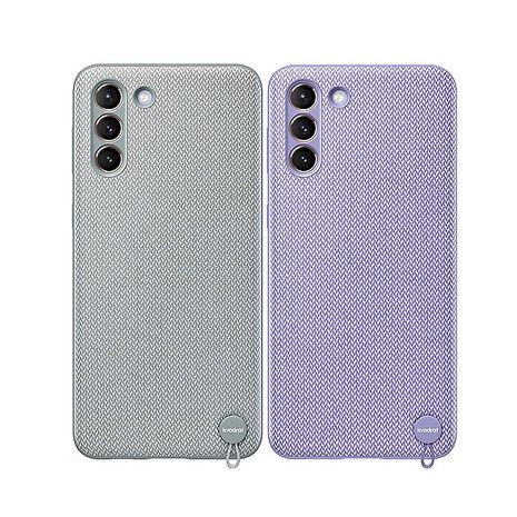 SAMSUNG Galaxy S21+ 5G 原廠織布背蓋(台灣公司貨)灰色