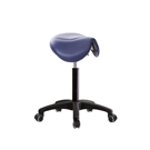 GXG 江南小馬鞍 工作椅(塑膠腳/防刮輪)  TW-81T7EX