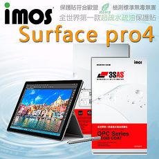 【Mypiece】imos 微軟 Microsoft Surface Pro 4 亮面膜 3SAS 螢幕保護貼