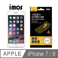 【iMOS Touch Stream】蘋果Apple iPhone 7/8 電競 霧面 螢幕保護貼