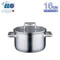 《德國ELO》Multilayer 不鏽鋼雙耳湯鍋(16CM)