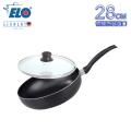 《德國ELO》DUCTO 高身不沾平底萬用鍋含蓋(28cm)