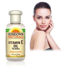 美國Sundown日落恩賜 維他命E凝膠全效護膚油(75ml/瓶)
