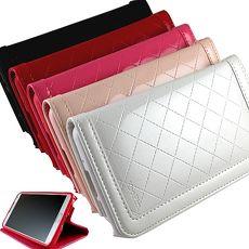 KooPin Apple ipad mini3 隱磁系列 手提式菱格包