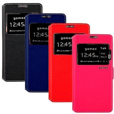 視窗款側掀皮套 ASUS ZenFone2 5吋 (ZE500CL)桃紅