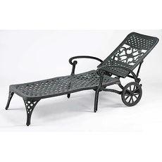鋁合金編織躺椅