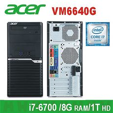 ACER 電腦 VM6640G I7-6700/8G/1T 無作業系統