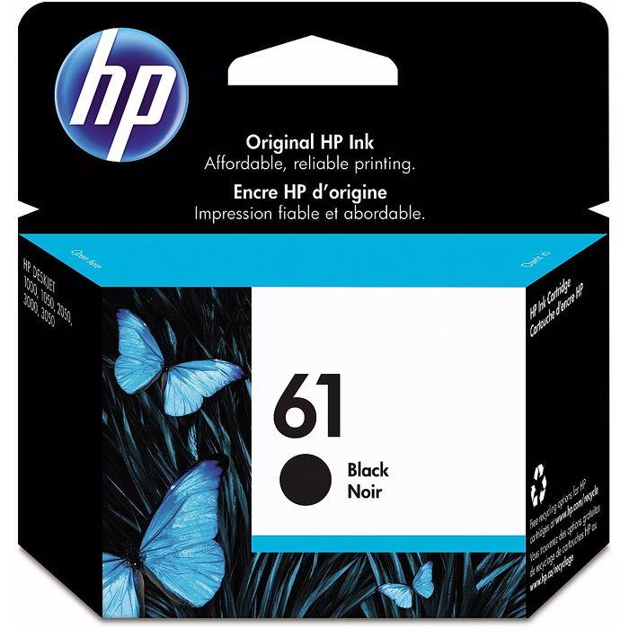 (客訂)HP CH561WA No.61 原廠黑色墨水匣