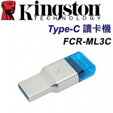 Kingston 金士頓 MobileLite Duo 3C USB Type-C 讀卡機 FCR-ML3C microSD 專用