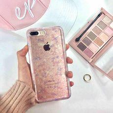 櫻花女孩Ms. Young iPhone X // iPhone 8/8 plus // iPhone 7/7 plus // iPhone 6s/6 plus 雙料透明 手機殼iPhone 6s Plus