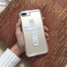 十字架Ms. Young Samsung S8/ Plus// S7/ edge// Note3/ 4/ 5手機殼Note5
