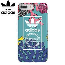 adidas Originals 5.5吋 iPhone 7 PLUS 彩繪新款 珊瑚 2017 TPU Cover 防摔手機套