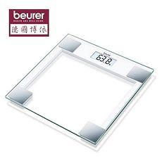 德國博依 beurer  典雅方框玻璃體重計 GS14