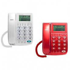 SAMPO聲寶 來電顯示有線電話 HT-W1310L (紅色、白色)紅色