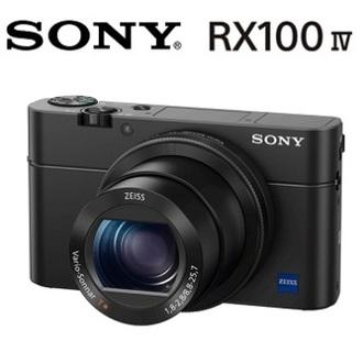 SONY RX100IV DSC-RX100M4 公司貨 專業高畫質4K錄影 ★贈電池(共兩顆)+32G高速卡+座充+保護貼+吹球清潔組