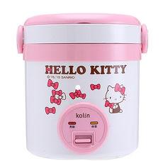 kolin 歌林 Hello Kitty 隨行電子鍋 (一人份) KNJ-MNR1230 (神腦公司貨)◆歌林X Hello Kitty聯名款