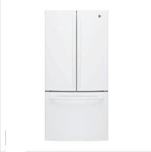 GE 美國 奇異 GNE25JGWW 715L 法式三門冰箱 白色