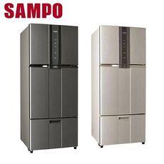 SAMPO聲寶 530公升 變頻三門冰箱 SR-A53DV(Y2) 炫麥金 / SR-A53DV(K2) 石墨銀
