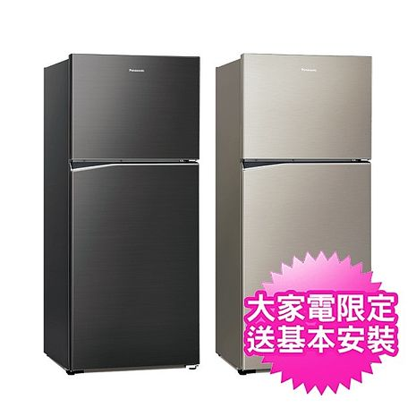 (結帳享折扣)【Panasonic 國際牌】422公升變頻鋼板雙門冰箱(NR-B420TV)  2/27前買