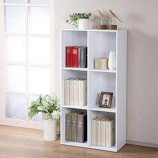 【特賣】Homelike 現代風三層六格置物櫃