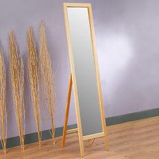 【特賣】Homelike 自然風味松木穿衣鏡