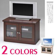 「預購」Homelike 簡約雙門電視櫃(二色任選)