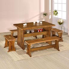 「預購」Homelike 田園休閒桌椅組