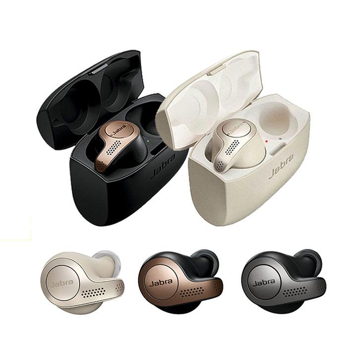 Jabra Elite 65t 真無線防水藍牙耳機銀/黑