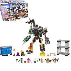 《玩具森林》[變形金剛]KRE-O樂高LEGO型積木組:9合1大力神工程合體組DESTRUCTION SITE DEVASTATOR(560片積木/含大力神)