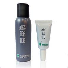 《髮旺旺》清潔保養旅行組(頭皮調理洗髮精80g+髮根滋養精華液15g)
