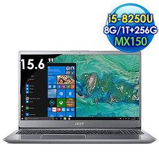 Acer Swift 3 SF315-52G-53KQ 15.6吋  筆電 銀 (i5-8250U/8G/256GSSD+1TB /Win 10)