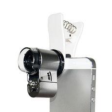 65X高清放大鏡LED紫光驗鈔便攜式顯微鏡頭