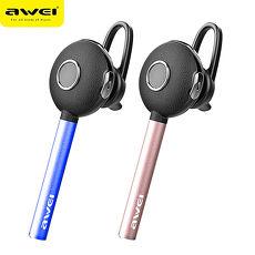 AWEI A825BL 商務型鎂鋁合金單耳藍牙耳機/兩色可選