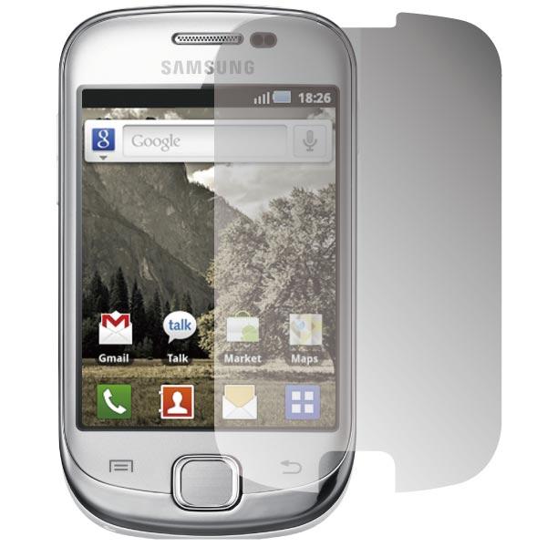 ZIYA Samsung Galaxy Fit  S5670 抗刮亮面螢幕保護貼 - 2入