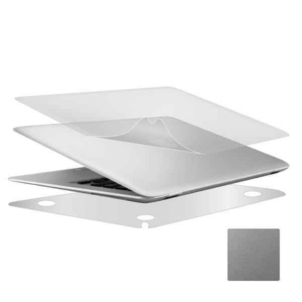 [ZIYA] Apple Macbook Pro 13.3吋 Retina  機身貼膜/機身保護貼 (時尚靚銀款 上蓋+底蓋)