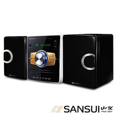 SANSUI山水數位DVD/USB/3合1讀卡床頭音響組MS-735