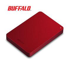 BUFFALO巴比禄 2.5吋防震加密1TB行动硬盘 HD-PNFU3红