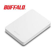 BUFFALO巴比禄 2.5吋防震加密1TB行动硬盘 HD-PNFU3白